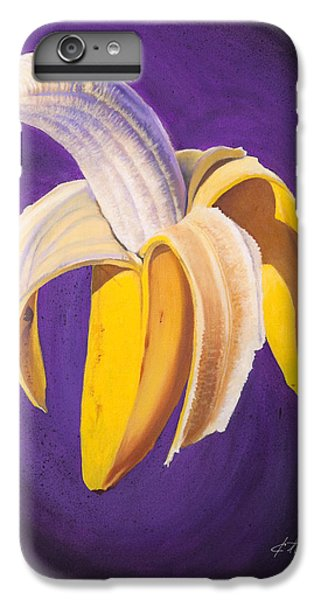 Banana Half Peeled IPhone 6 Plus Case