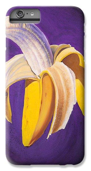 Banana Half Peeled IPhone 6 Plus Case by Karl Melton