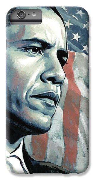 Barack Obama Artwork 2 B IPhone 6 Plus Case by Sheraz A