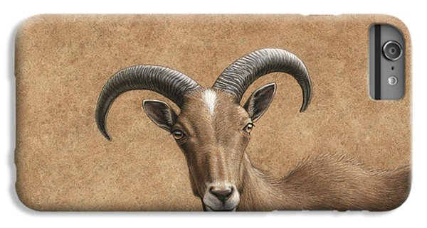 Goat iPhone 6 Plus Case - Barbary Ram by James W Johnson