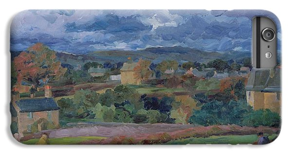 Barbon From The Railway Line Autumn IPhone 6 Plus Case