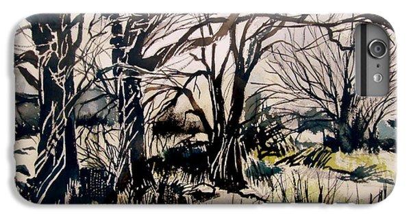 Barren iPhone 6 Plus Case - Barren Wood by Mindy Newman