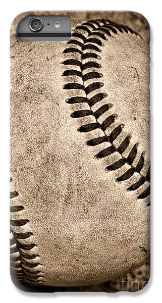 Baseball Old And Worn IPhone 6 Plus Case by Paul Ward