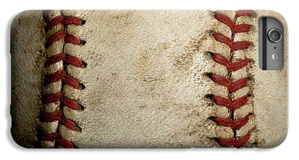 Baseball Seams IPhone 6 Plus Case by David Patterson