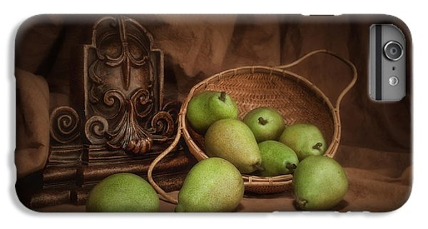 Basket Of Pears Still Life IPhone 6 Plus Case by Tom Mc Nemar