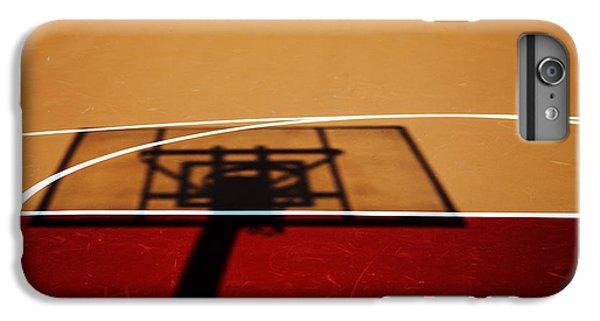 Basketball Shadows IPhone 6 Plus Case by Karol Livote