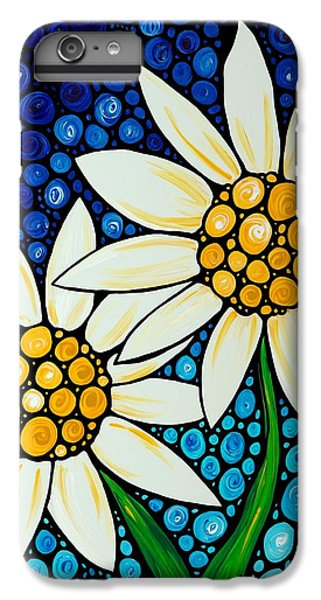 Bathing Beauties - Daisy Art By Sharon Cummings IPhone 6 Plus Case by Sharon Cummings