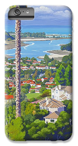Pacific Ocean iPhone 6 Plus Case - Batiquitos Lagoon 2014 by Mary Helmreich