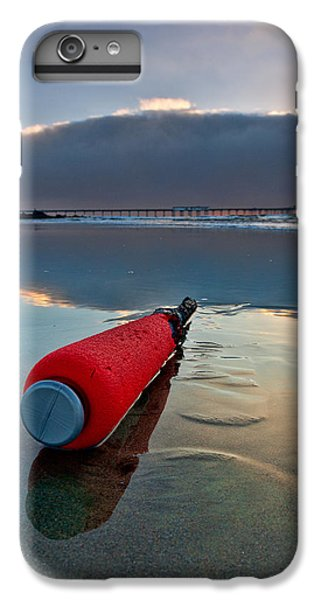 Batter-ed By The Sea IPhone 6 Plus Case by Peter Tellone