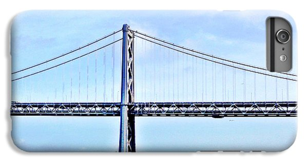 Architecture iPhone 6 Plus Case - Bay Bridge by Julie Gebhardt