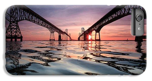 Architecture iPhone 6 Plus Case - Bay Bridge Reflections by Jennifer Casey
