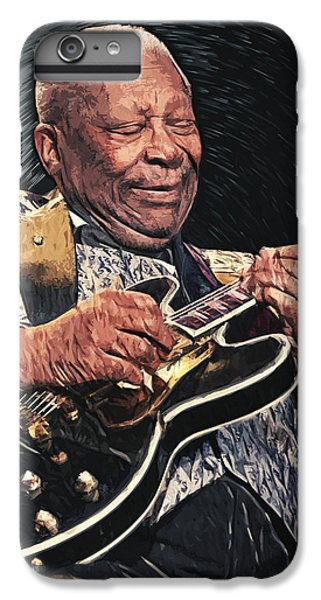 B.b. King II IPhone 6 Plus Case by Taylan Apukovska