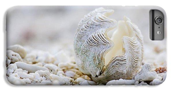 Pacific Ocean iPhone 6 Plus Case - Beach Clam by Sean Davey