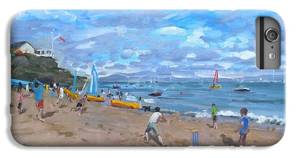 Cricket iPhone 6 Plus Case - Beach Cricket by Andrew Macara