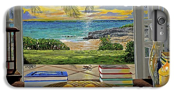 Beach View IPhone 6 Plus Case by Carey Chen