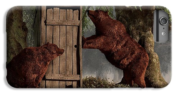 Bears Around The Outhouse IPhone 6 Plus Case