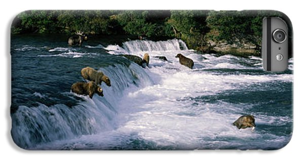 Bears Fish Brooks Fall Katmai Ak IPhone 6 Plus Case