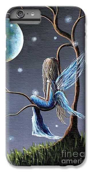 Fairy Art Print - Original Artwork IPhone 6 Plus Case by Shawna Erback