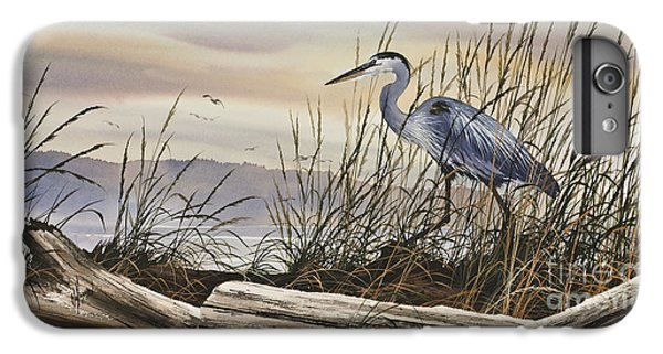 Heron iPhone 6 Plus Case - Beauty Along The Shore by James Williamson