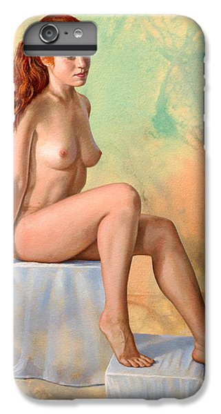 Nudes iPhone 6 Plus Case - Becca 014 In Abstract by Paul Krapf