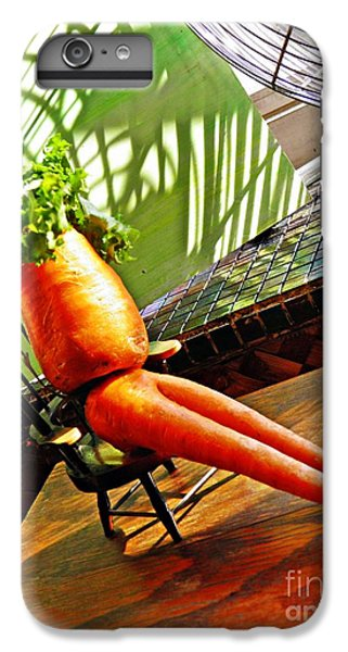 Beer Belly Carrot On A Hot Day IPhone 6 Plus Case