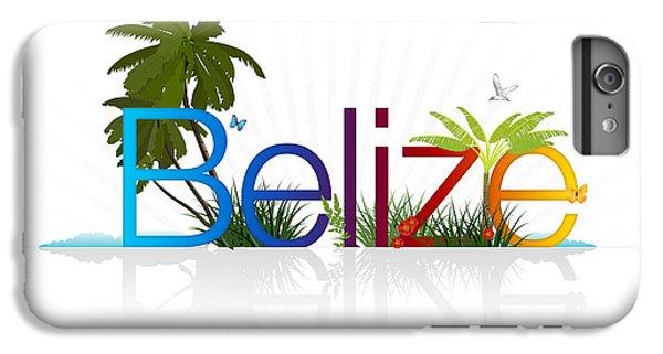 Crocodile iPhone 6 Plus Case - Belize by Aged Pixel