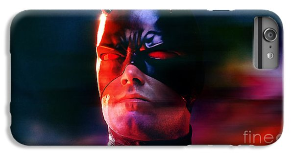 Ben Affleck Daredevil IPhone 6 Plus Case by Marvin Blaine