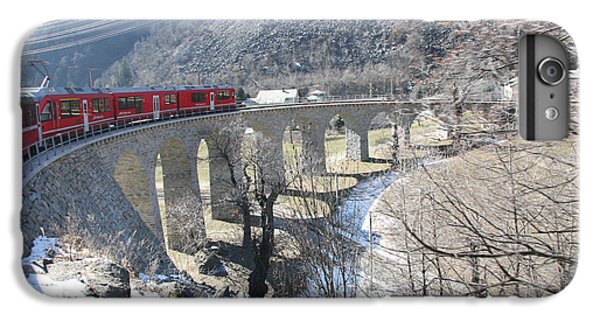 Bernina Express In Winter IPhone 6 Plus Case by Travel Pics