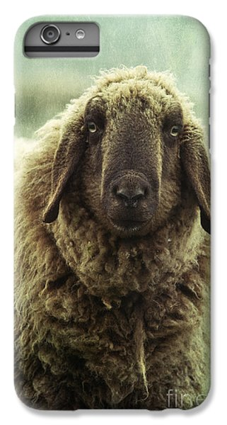 Sheep iPhone 6 Plus Case - Besch Da Pader by Priska Wettstein