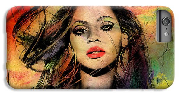 Hollywood iPhone 6 Plus Case - Beyonce by Mark Ashkenazi