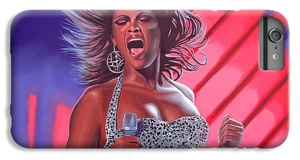 Beyonce IPhone 6 Plus Case by Paul Meijering
