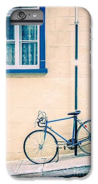 Bicycle iPhone 6 Plus Case - Bicycle On The Streets Of Old Quebec City by Edward Fielding