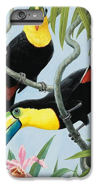 Big-beaked Birds IPhone 6 Plus Case by RB Davis