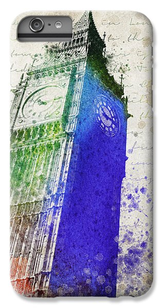 Big Ben IPhone 6 Plus Case by Aged Pixel