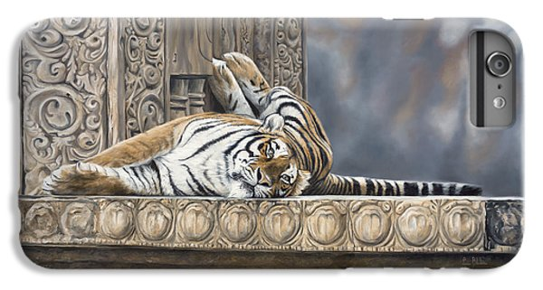 Big Cat IPhone 6 Plus Case by Lucie Bilodeau