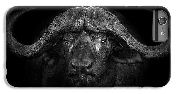 Africa iPhone 6 Plus Case - Big Horns by Mario Moreno