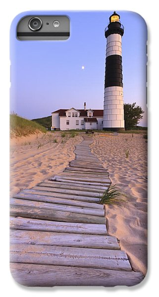 Lake Michigan iPhone 6 Plus Case - Big Sable Point Lighthouse by Adam Romanowicz