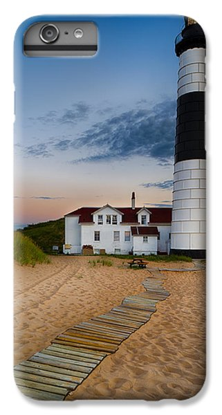 Big Sable Point Lighthouse IPhone 6 Plus Case by Sebastian Musial
