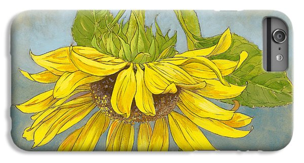 Big Sunflower IPhone 6 Plus Case by Tracie Thompson