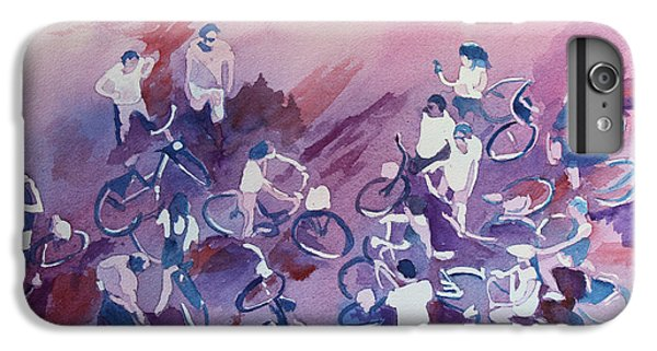 Bicycle iPhone 6 Plus Case - Bike Tour by Jenny Armitage