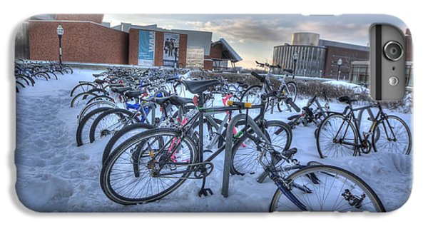 Bikes At University Of Minnesota  IPhone 6 Plus Case by Amanda Stadther