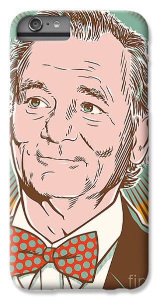 Bill Murray Pop Art IPhone 6 Plus Case by Jim Zahniser