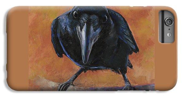 Blackbird iPhone 6 Plus Case - Bird  Watching by Billie Colson