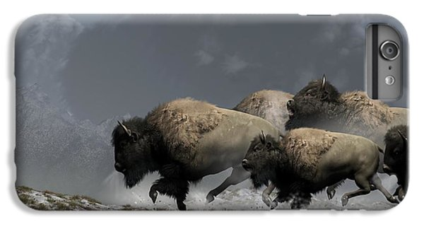 Bison Stampede IPhone 6 Plus Case