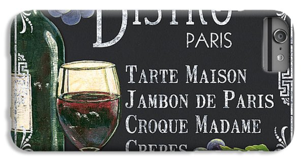 Wine iPhone 6 Plus Case - Bistro Paris by Debbie DeWitt