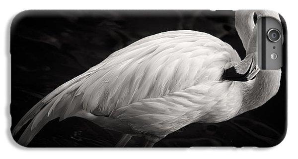 Black And White Flamingo IPhone 6 Plus Case