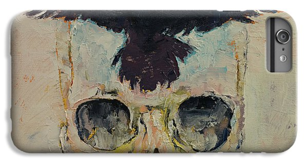 Black Crow IPhone 6 Plus Case by Michael Creese