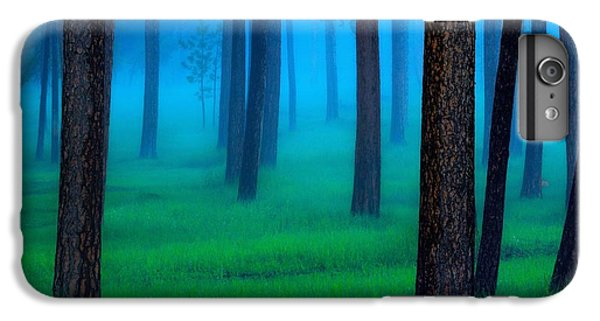 Green iPhone 6 Plus Case - The Black Hills Forest by Kadek Susanto