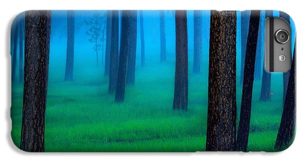 Fantasy iPhone 6 Plus Case - Black Hills Forest by Kadek Susanto