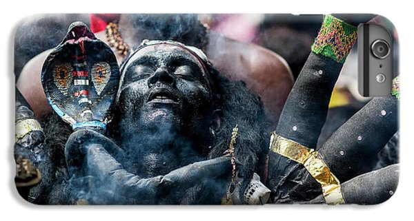 Cobra iPhone 6 Plus Case - Black Kaali by Elangovan Subramanian